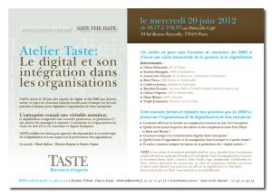 Atelier Digital Taste